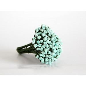 Букет микро Бутонов цвет Мятный размер 5 мм 10 шт.