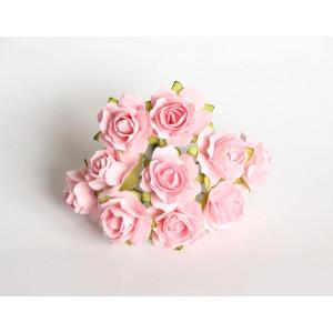 Букет кудрявых роз цвет Розово-Персиковый размер 2 см