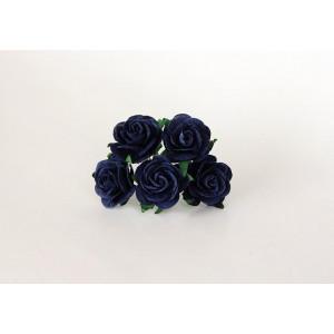 Букет Роз midi цвет Синие  размер 2,5 см