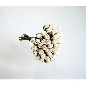 Букет микро Бутонов цвет Белый размер 5 мм 10 шт.