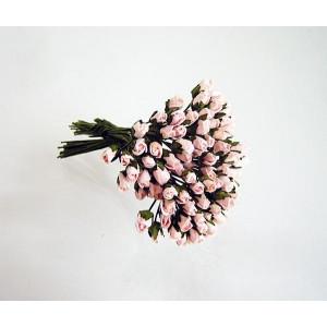 Букет микро Бутонов цвет Розово-Персиковые размер 5 мм 10 шт.