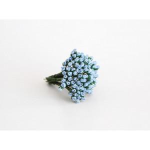 Букет микро Бутонов цвет Голубой размер 5 мм 10 шт