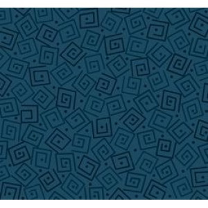 Ткань SQUARES PRUSSIAN BLUE Quilting Treasures