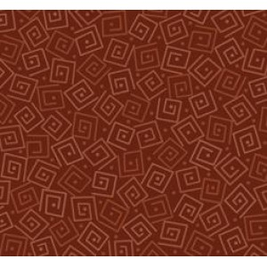 Ткань SQUARES RUST Quilting Treasures