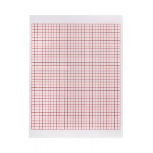 Лист из прозрачного пластика расчерченный для создания шаблона, 2 шт, HEMLINE