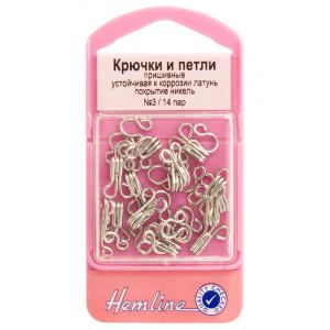 Крючки и петли № 3 Hemline