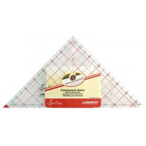 """Линейка-треугольник  90°, градация в дюймах, 7 1/2"""" X 7 7/8"""", Sew Easy"""