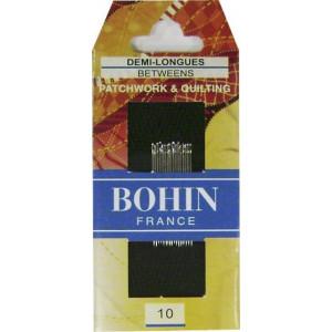 Набор игл для квилтинга №10 (20 шт), BOHIN