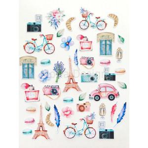 """Набор высечек """"Однажды в Париже"""" MONA Design"""