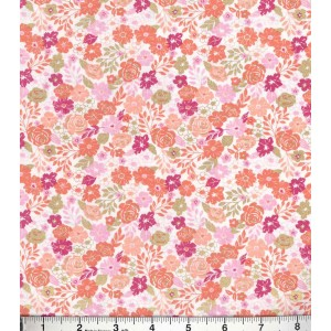Ткань Buttercream™ Olivia Cotton Fabric-Ditsy Floral Packed