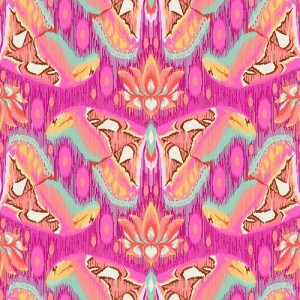 Ткань Atlas Tourmaline Tula Pink, Eden, Westmister