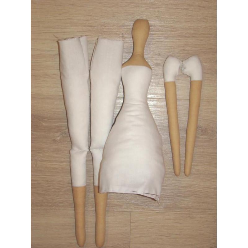Ткань для кукол Тильда