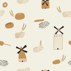 Поплин Breads Origins Poplin KATIA