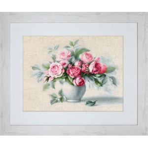 Этюд c чайными розами LUCA-S