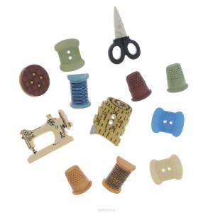 Набор пуговиц Sewing от buttons Galore