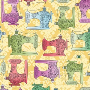 Ткань Коллекция Fabric Follies Yellow Quilting Treasures