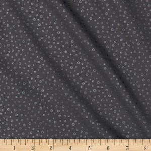 Ткань Pearl Essence Dots Black By Maywood
