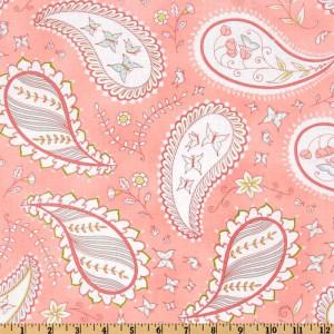 Ткань Michael Miller Bella Butterfly Pretty Paisley Pink