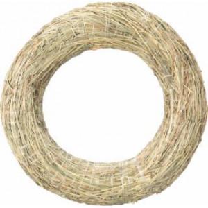 Венок из сена 30 см