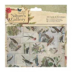 Заготовки для открыток с конвертом, Natures Gallery