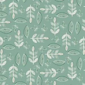 Ткань SOPHIA LEAF Makower UK