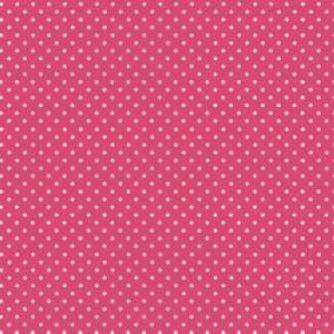 Ткань Spot Raspberry Makower