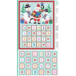 Купон Jolly Santa Advent Calendar, Makower uk