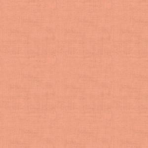 Ткань Linen Texture CORAL PINK, Makower UK