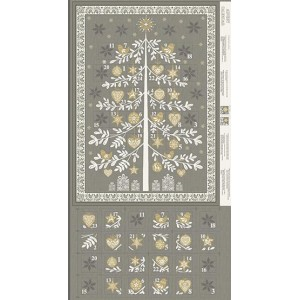 Купон Scandi Advent Tree Silver Makower