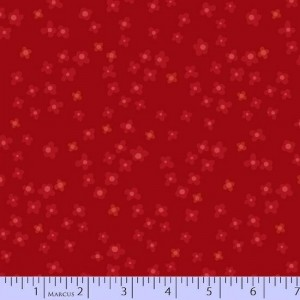 Ткань Getting to Know Hue Red Marcus Fabric