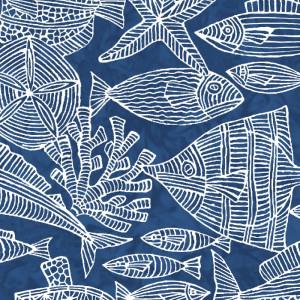 Ткань Turtle Bay Sealife Maywood Studio