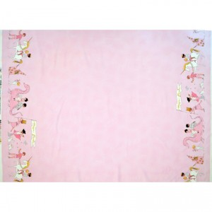 Ткань Magical Parade - Double Border with Cotton Metallic Michael Miller