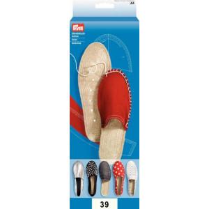 Эспадрильи - Подошвы размер 39  1 пара от Prym