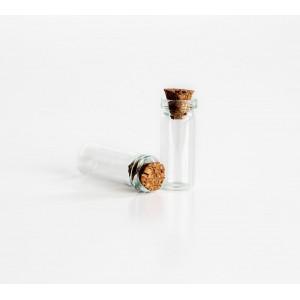 Бутылочка для миниатюр № 8 размер 6*20 мм