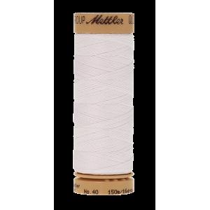 Нить для ручного квилтинга  QUILTING WAXED цвет 0002 White  размер 150 м от Mettler