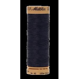 Нить для ручного квилтинга  QUILTING WAXED цвет 0916 Navy от размер 150 м от Mettler