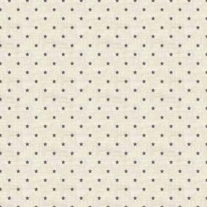 Ткань Scandi Basics Mini Star Silver, Makower