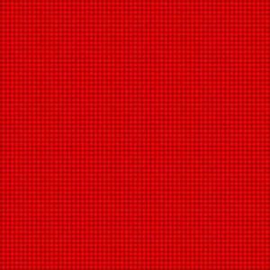 Ткань Scandi Basics Gingham Red Makower