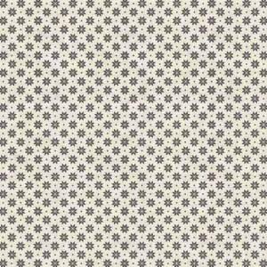 Ткань Scandi Basics Nordic Snowflake Silver-2 Makower