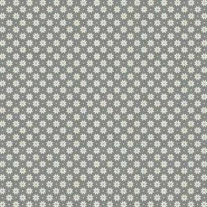 Ткань Scandi Basics Nordic Snowflake Silver, Makower