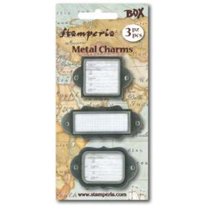 Металлические рамки Metal Charms от  Stamperia