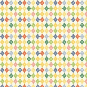Двусторонняя бумага 30 * 30 Веселая Эстафета от ScrapBerry's