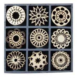 Набор деревянных украшений Фантазийные круги, Knorr Prandell