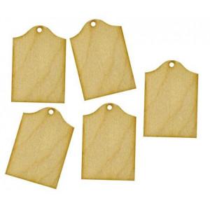 Набор декоративных элементы  Прямоугольные бироки от Woodbox