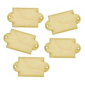 Набор декоративных элементы  Бирки от Woodbox