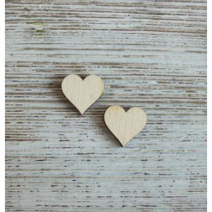 Декоративный элемент Сердечко от Woodbox