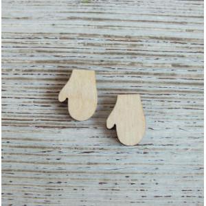 Декоративный элемент Варежка от Woodbox