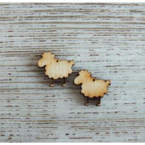 Декоративный элемент  Овечка от Woodbox