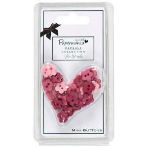 Набор пуговиц Parkstone Pink от Docrafts
