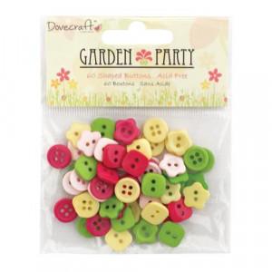 Набор пуговиц Garden Party от Dovecraft